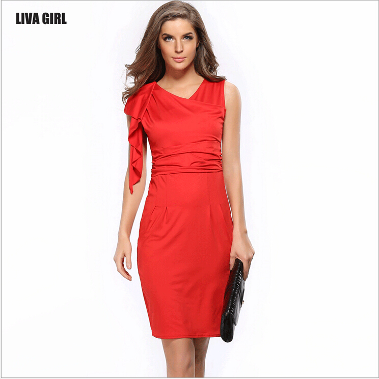 Online Get Cheap Red Party Dresses Aliexpress Com