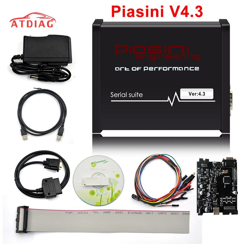 La serie Suite Piasini Engineering V4.3 más nueva, versión maestra con llave electrónica USB, No necesita activado, compatible con más vehículos