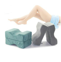 Leg protector comfort pure memory foam knee pillow sciatica leg pain, hip pain and joint pain, patient care leg pad