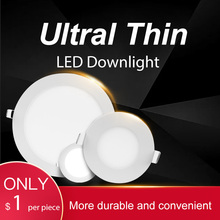 Spot Led Downlight Recessed Round LED Ceiling Lights 3W 6W 9W 12W 15W 18W 220V Lamp Light Spotlight For Kitchen