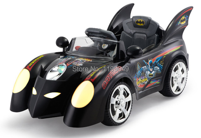 Children Electric Four Wheel Remote Control Toys Bb Batman Vehicles Can Sit