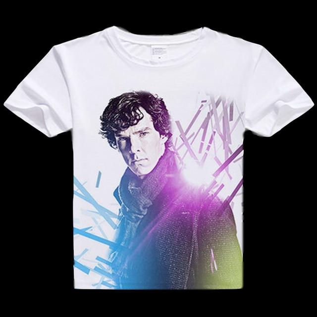 Magliette Unisex Camicette T Tee E Anime Sherlock Shirt qMVUSzp