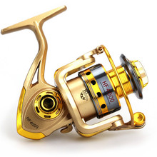 Fishing Reel Pre-Loading Spinning Wheel Yellow 10 BB Durable Cheaper