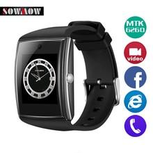 Sowmow LG518 Bluetooth NFC смарт-часы Водонепроницаемый браслет поддержка sim-карта TF здоровья Sleep Monitor SmartWatch для IOS Android