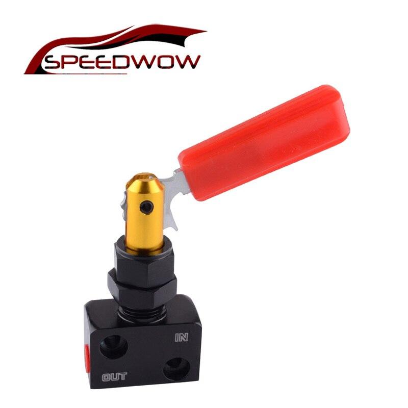 SPEEDWOW Racing Auto Universal Bremse Anteil Ventil Einstellbar Prop Bremse Bias Teller Racing Auto Hebel Typ