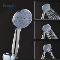 Frap Third Gear Adjustment Round Hand Shower Water Saving ABS Bath Shower Head Showerhead Rain Spray Bathroom Accessories F16 5