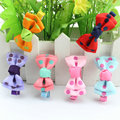 Hot Sale new fashion cute baby girl dot ribbon bow hairclips kids butterfly bow hairpins children hair accessories