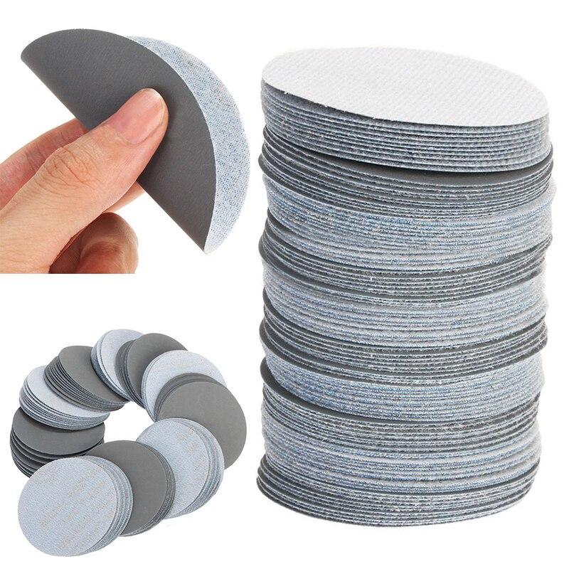 100pcs 3inch Sander Discs 3000Grit Sanding Paper Polishing Sander Pad Sandpaper for Abrasive Tools 11 11 free shipping adhesive sander back pad sanding machine mat black white for makita 9035
