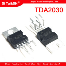 1pcs TDA2030 TO220-5 TDA2030A TO-220 linear audio amplifier short-circuit and thermal protection IC(China)