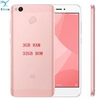 ORIGINAL BRAND NEW Xiaomi Redmi 4X PRO 3GB RAM Fingerprint ID Snapdragon 435 Octa Core 5.0