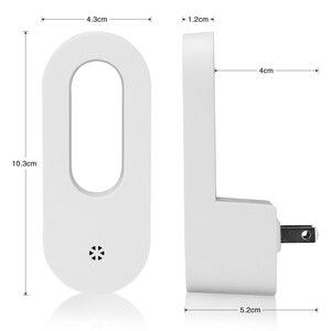 Image 4 - LED Stecker in der Nacht Licht Warm Weiß Wand Lichter Dusk zu Dawn Licht Sensor für Baby Kinder Kinder der Zimmer Kindergärten Treppen Flur