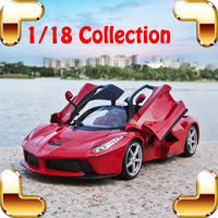 New Arrival Gift LaF 1/18 Famous Model Car Die cast Metal Vehicle Racer Design Simulation Toys Alloy Window Showcase Collection