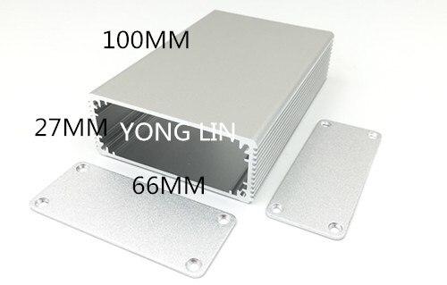10pieces Aluminum Junction Box Aluminum box 66 27 100 top sales aluminium case for electronic