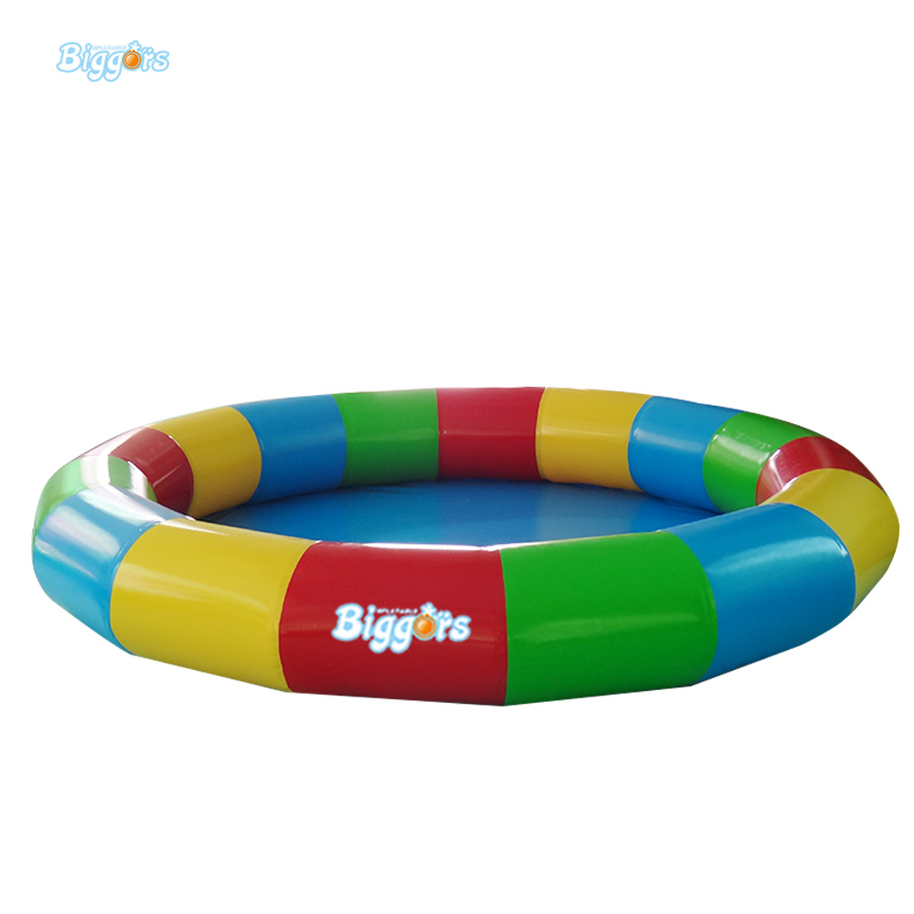 Portable And Colorful Inflatable Swimming Pools Toys Inflatable Water Pool With Repair Kit Accessories lake or ocean inflatable funny water sports game water trampoline with air pump and repair kit