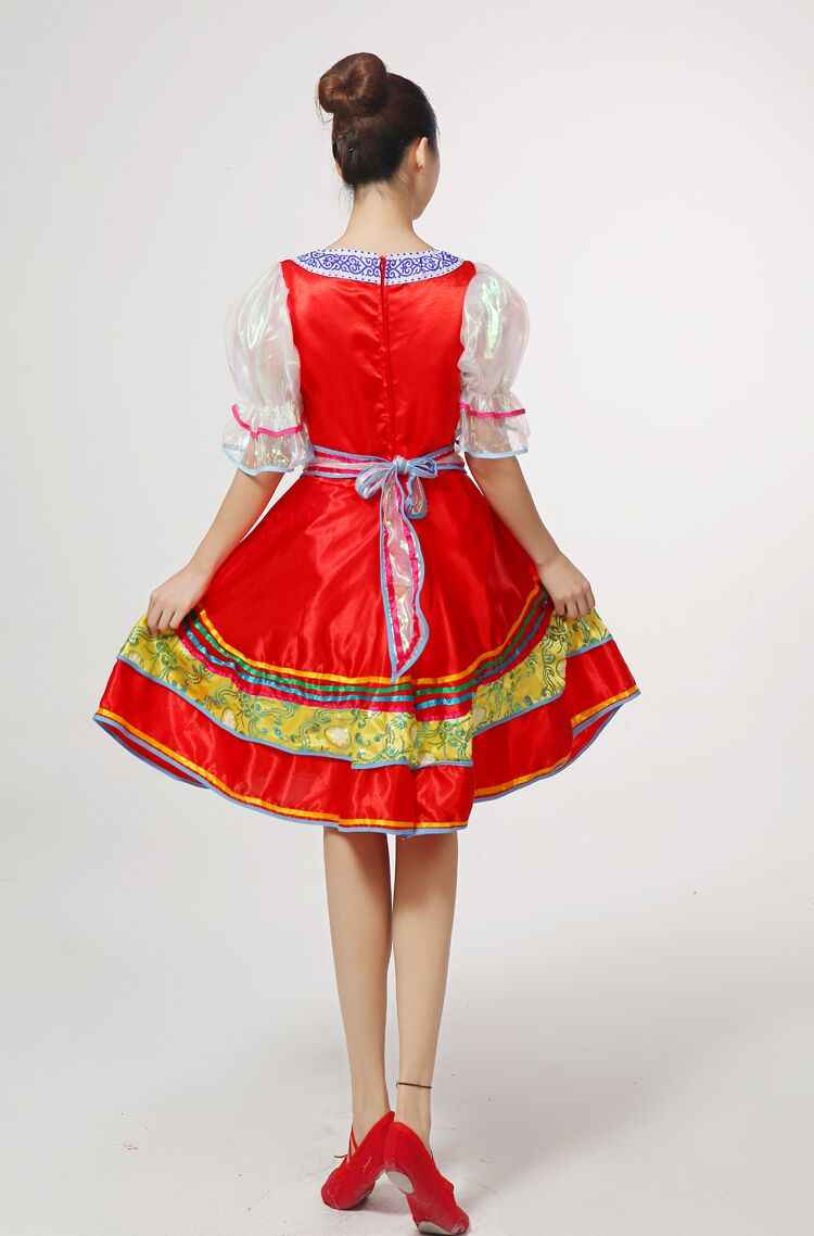 38870efb79c ... Classical traditional russian dance costume dress European princess stage  dresses Stage performance clothing 113001