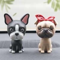 Nodding Dog Car Shake Head Dog Dolls Dashboard Car Decoration Accessories Auto Shaking Head Toy for Automoibles Car-styling