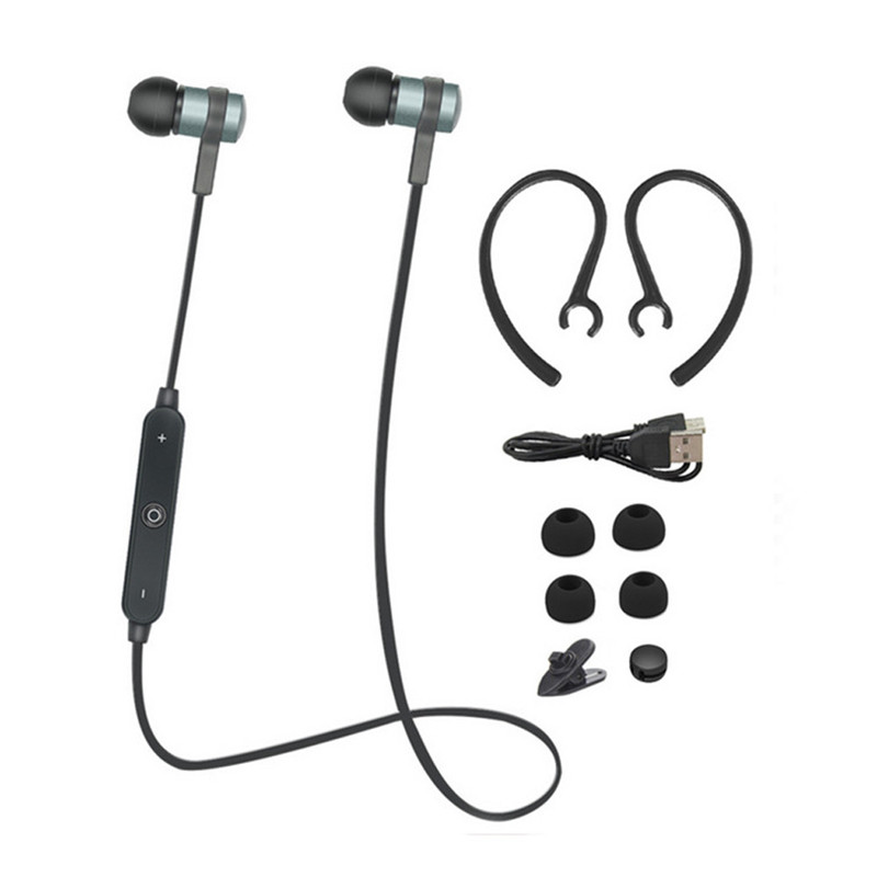 Wireless Bluetooth Neckband Sports MIC In Ear Headset Earphone For Android Huawei Xiaomi iPhone 6/7 plus Tablet Computer remax 2 in1 mini bluetooth 4 0 headphones usb car charger dock wireless car headset bluetooth earphone for iphone 7 6s android