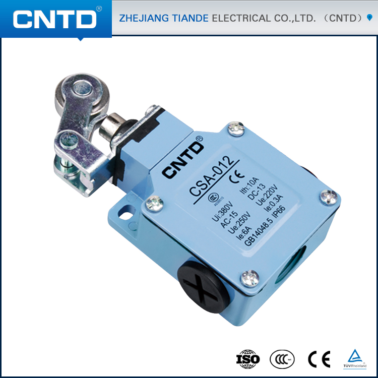 CNTD Magnetic Limit Switch CSA-012 Waterproof IP66 Limit Switch zhejiang days was waterproof and dust stroke micro limit switch cntd cz 3102 chang was brought line 3m