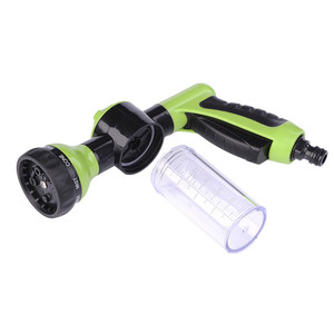 Image 5 - Neue Auto Waschen Schaum Grün Wasser Pistole Auto Washer Tragbare Durable Hochdruck Für Auto Waschen Düse Spray Kostenloser Versand
