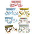 1 Set 7 Different Style Kid's Prentend Play Restaurant Toys for Birthday Party