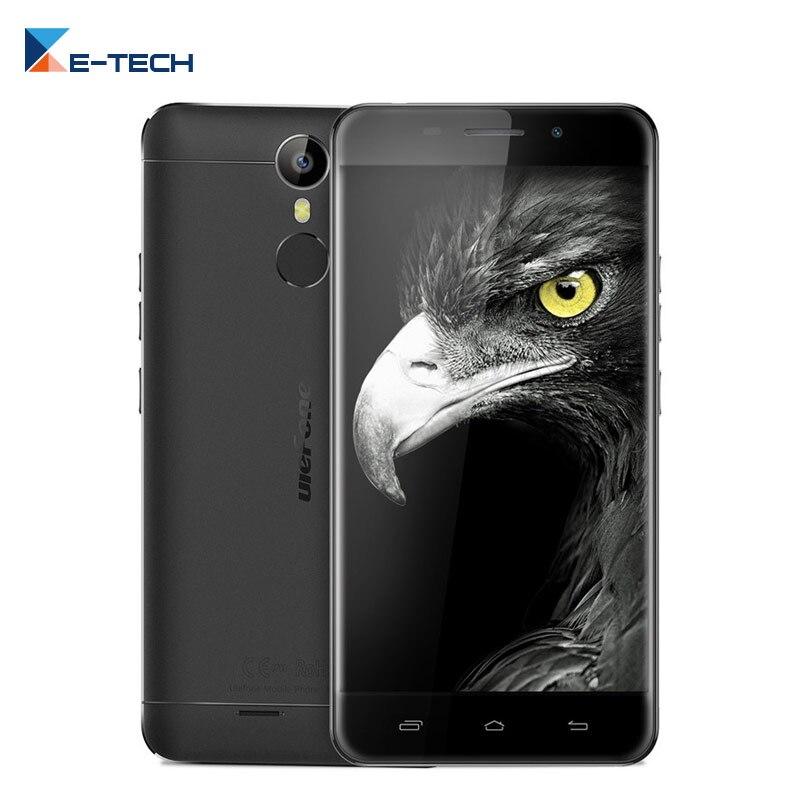 Цена за Оригинал Ulefone Металла MTK6753 Окта основные 1280x720 FHD Экран 5.0 Дюймов 3 ГБ RAM 16 ГБ ROM 13MP отпечатков пальцев Сотовый Телефон
