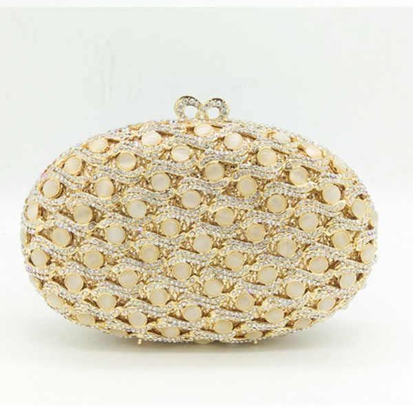 Роскошный клатч вечерние дамские сумочки золотой полый кристалл свадебная сумочка-клатч со стразами женский клатч невесты вечерние женские сумки