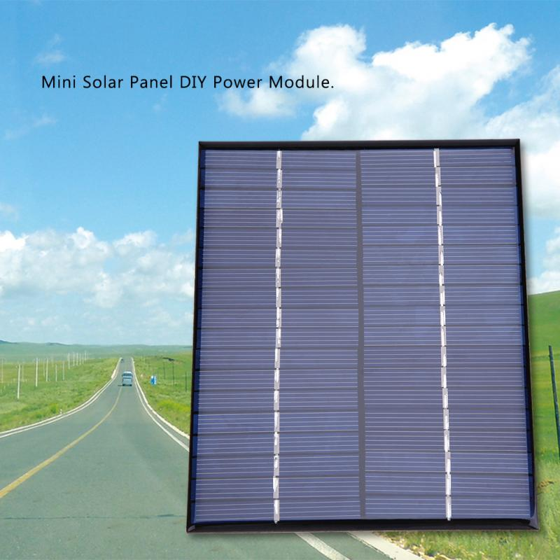 2W Solar Panel 18V panel solar Mini Portable Polycrystalline Silicon Solar Panel Power M ...