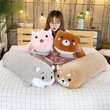 רך בפלאש צעצועים חמוד חתול דוב שיבא inu חי כלב אוגר בעלי החיים בובת קריקטורה צעצוע שינה כרית לחבק מתנה עבור ילדים