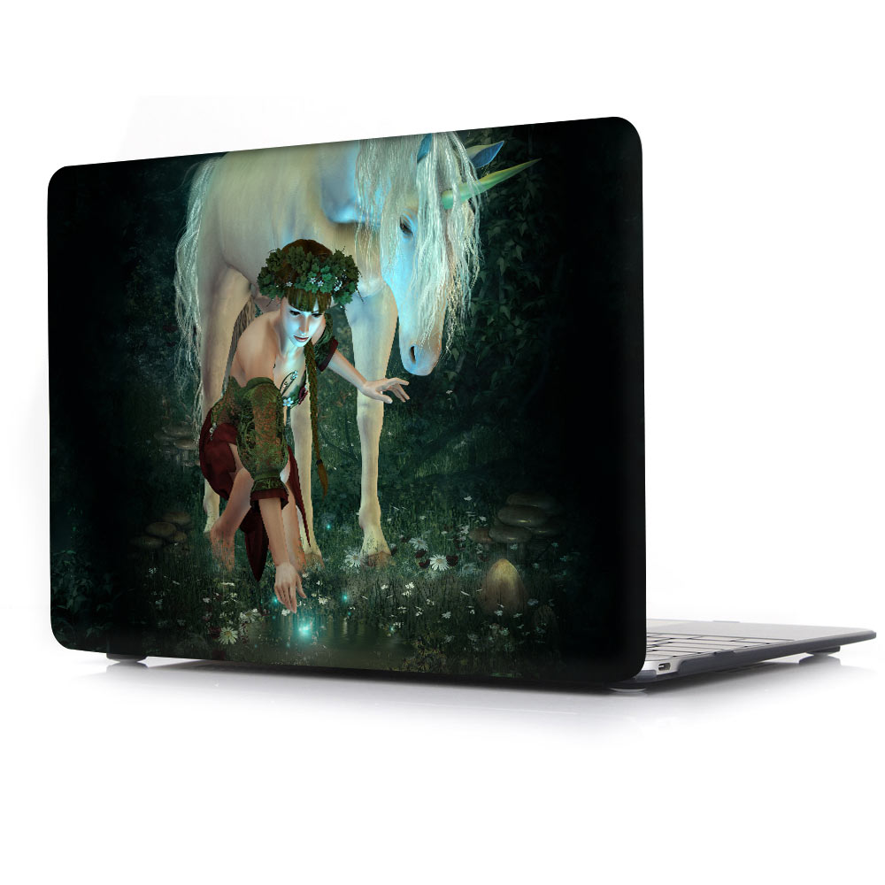 Wonderland Tale girl cuento impreso para macbook Air Pro Retina 11 12 - Accesorios para laptop - foto 2
