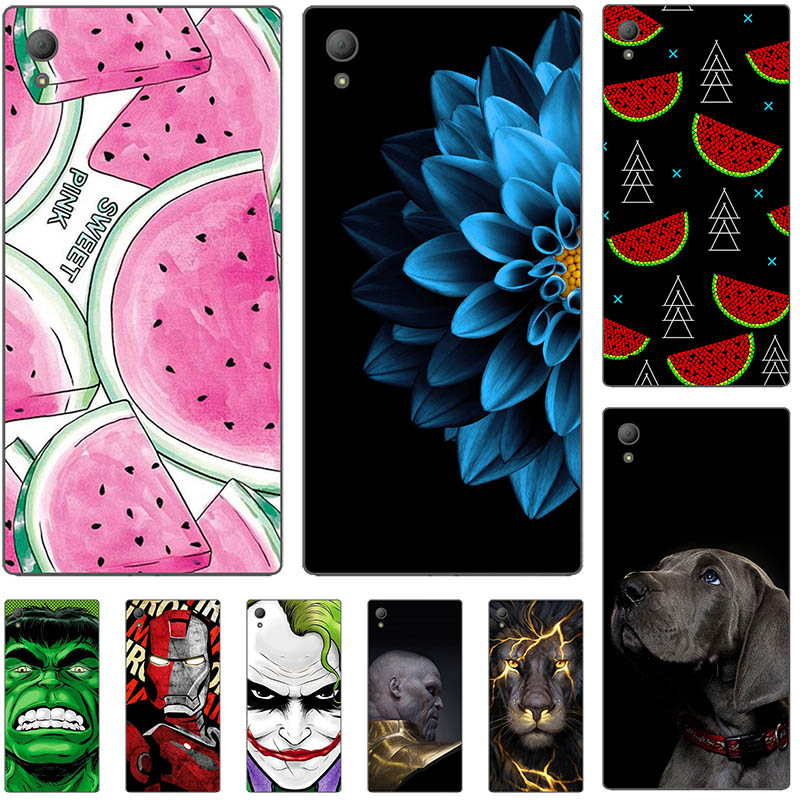 Lovely Fashion Case For Lenovo Vibe X S960 S 960 Art Print Flower Soft Silicone Cell Phone Cover Rose Funda Cute Animal Coque