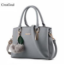 1711f0095a1 2018 New Women Handbags Leather Evening Purses Famous Brand Shoulder Bags  Luxury Western Style Air Bag