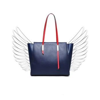 2019 New Women shopping Bag Luxury Leather Handbags Designer Famous Brands Vintage Large Lady Shoulder Bag Tote bolsa feminina