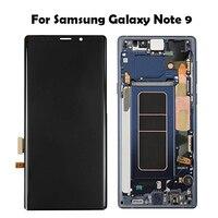 Für Samsung Galaxy Note 9 Lcd Display Touchscreen Digitizer Montage Für Samsung hinweis 9 n960 N950F N960D N960DS lcd mit Rahmen-in Handy-LCDs aus Handys & Telekommunikation bei