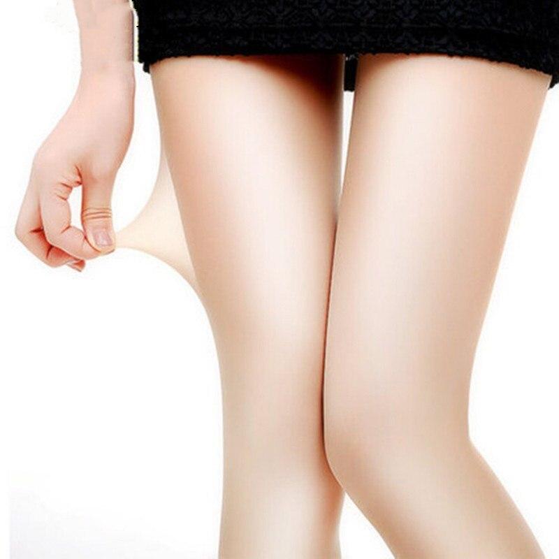 YRRETY 2018 New Fashion Sexy Women Casual Transparent Silk Stocking Warm Long Socks elastic Slim Thin Female Knee High Socks