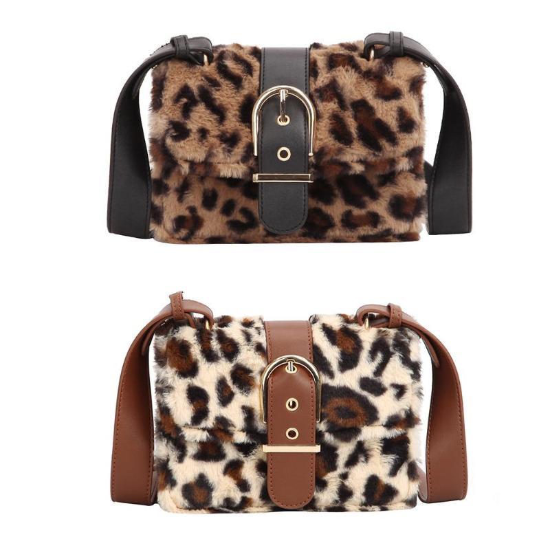 Women Ladies Leopard Print Handbag Shoulder Bag Messenger Cross Body Totes Purse