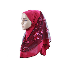 MIARA.L ethic wind headscarf head Arab popular pattern ladies hui convenient for wholesale