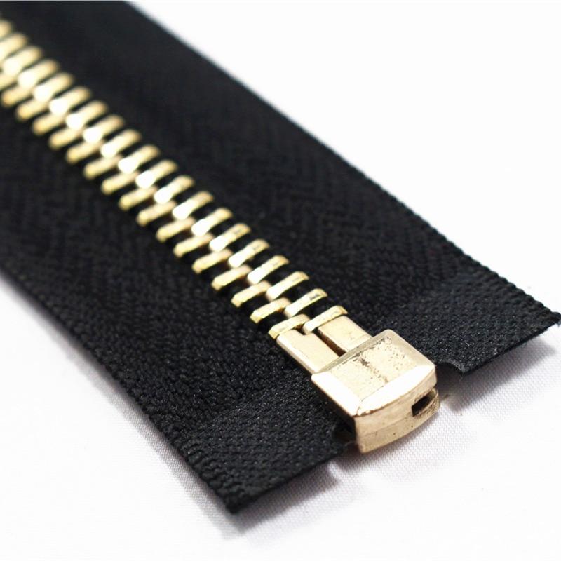 End-open 40cm-100cm 8 # 1pcs Cremallera metálica para coser con - Artes, artesanía y costura - foto 3