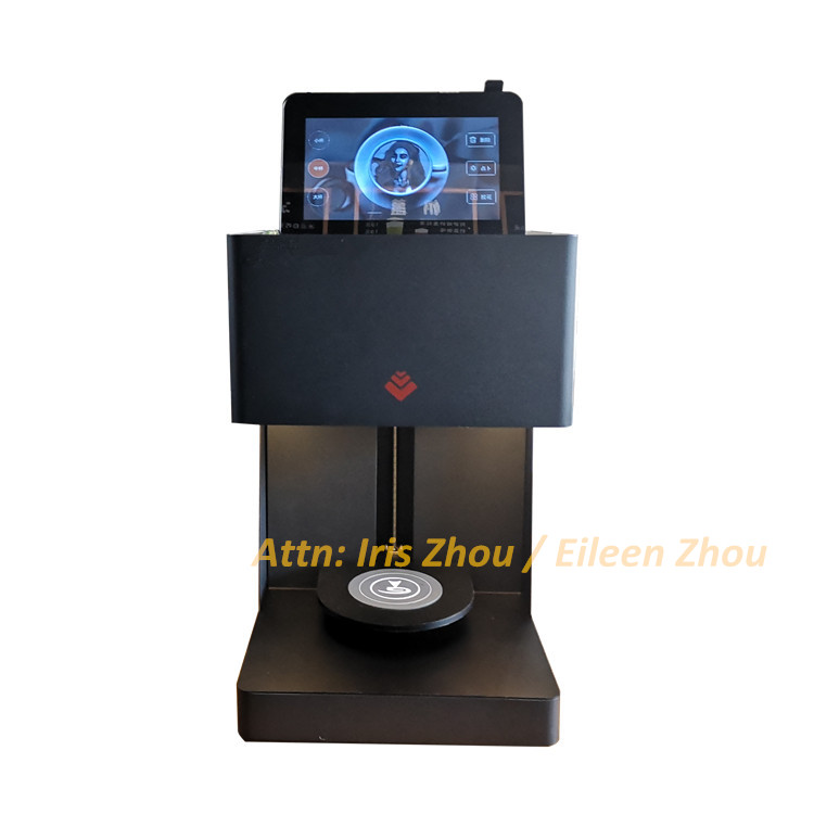 3D Coffee Printer Latte Art Coffee Printer With Tablet Available (free Software)