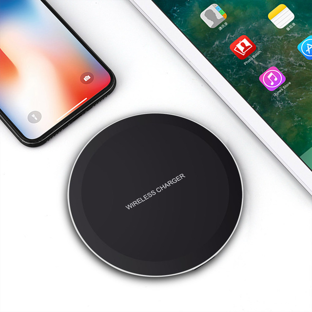DCAE QI Wireless Charger For iPhone X 8 XS Max XR Samsung S9 S8 Plus Xiaomi Mix 3 2s Wireless Charging Pad Docking Dock Station 3