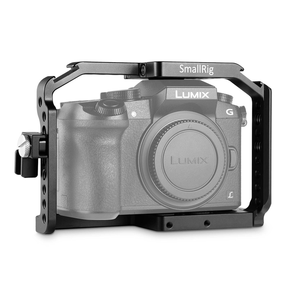 SmallRig for Panasonic Lumix DMC G7 Camera Cage with HDMI Cable Clamp+Cold Shoe+Mount Nato Rail Cage for Panasonic G7 1779
