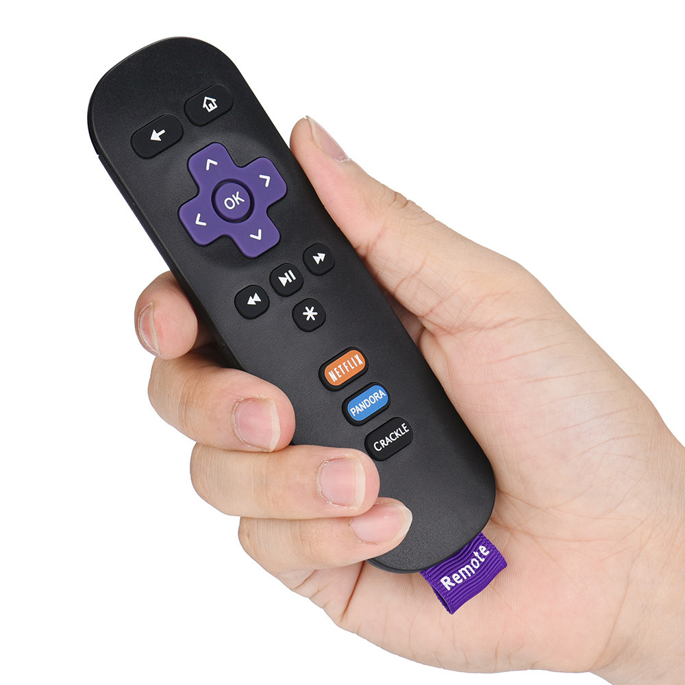 New Replacement Remote Control for ROKU 1/2/3/4 LT HD XD XS w/ Shortcut Buttons Drop Shipping ...