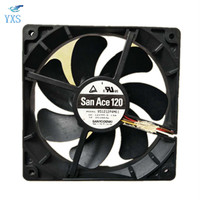 DENKI 9S2200 12V 0 19A PWM High Performance Mute Chassis Fan 9S1212P4F03