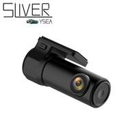 Sliverysea車dvrカメラビデオカムレコーダーフルhd 720 p wifi隠し運転レコーダーインテリジェント携帯電話監