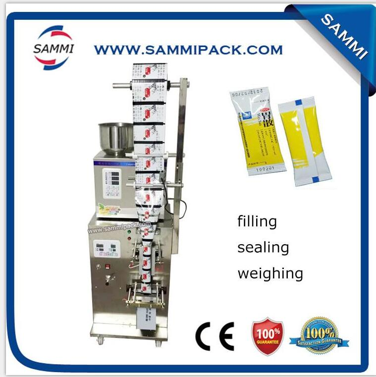 Back side seal packing machine SMFZ-70D with postion sensor with date printer, with letters with modeling machine with ribbon