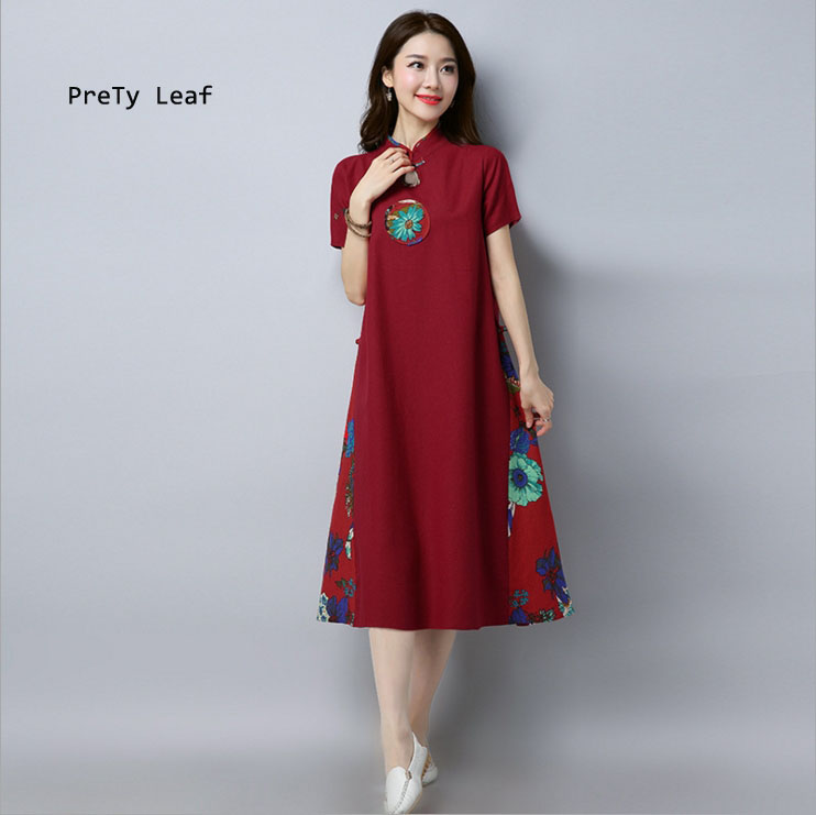 top 9 most popular prety leaf dress ideas and get free shipping