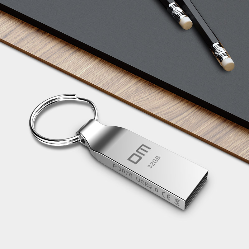 DM PD076 Metal 4GB 8GB 16GB 32GB USB Flash Pen Drive Storage Memory Disk Simple Style for Computer PC Tablet Free Shipping