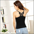 Hollow Butterfly Backless Sexy Vest Lady Slim Summer Stretch Camisole Women Cotton Tank Tops For Nightclub free shipping