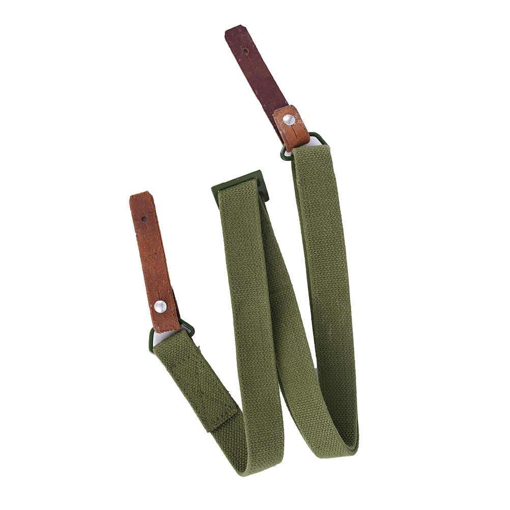 Tahan Lama Militer Airsoft Tugas Berat AK Rifle Sling Taktis Adjustable Membawa Gun Belt SLR Tali untuk Outdoor Berburu