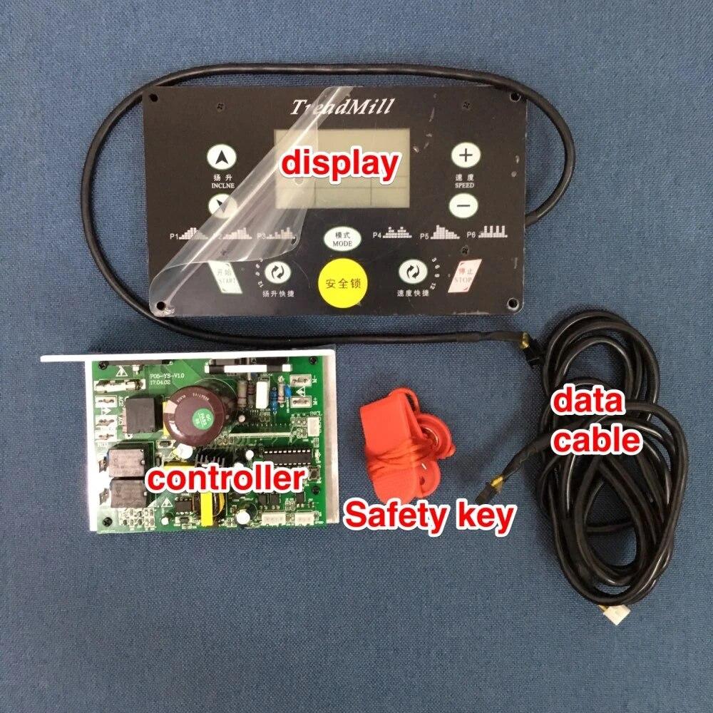 controleur de moteur de tapis de course controleur de machine en cours d execution panneau d affichage tapis de course ensembles de controleur
