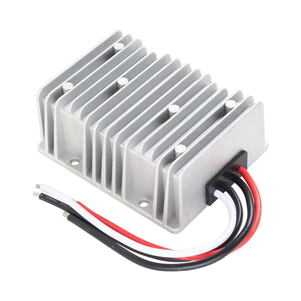 New Arrival DC 12V to DC 18V 20A 360W Power Boost Transformer Waterproof Voltage Converter Regulator High Quality dc dc boost car power converter booster voltage regulator 12v to 24v 20a 480w high efficiency waterproof anti seismic